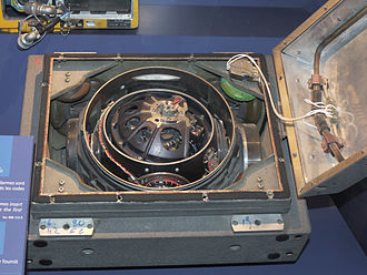 Inertial navigation system -  Inertial navigation unit of French IRBM S3.