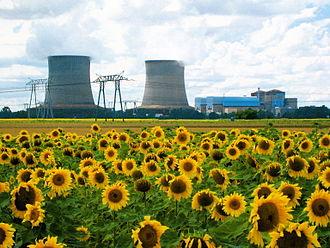 Saint-Laurent Nuclear Power Plant - Image: Centrale nucleaire Saint Laurent des Eaux