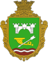 Coat of arms of Chervona Motovylivka