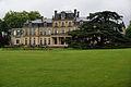Château Bourran sous la pluie Merignac 33.jpg