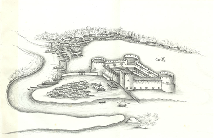 Chale fort, in Lendas da India Chale.png