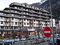 Chamonix-Mont-Blanc -- Le village piéton de Chamonix-Sud (Le Chamois Blanc).JPG