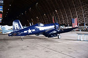 Chance Vought AU-1 F4U-7 Corsair BuNo 133722 NX1337A RSideRear light TAM 3Feb2010 (14443822817).jpg