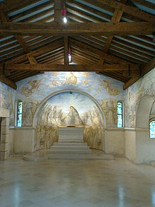 065625109b0 Intérieur de la chapelle Foujita à Reims.