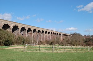 Gainsborough line - The Chappel viaduct carries a section of the Gainsborough line