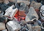 Charcoal burning פחם זה מה שנשאר מעץ שנשרף לא עד תום