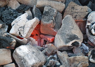 Charcoal - Charcoal burning