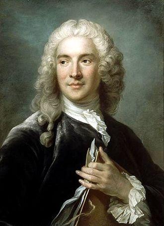 Charles-Joseph Natoire - Gustaf Lundberg's portrait of Charles-Joseph Natoire (Musée du Louvre).