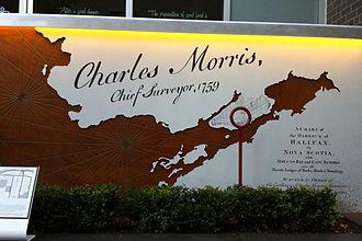 Charles Morris (surveyor general) - Image: Charles Morris House Location Halifax Nova Scotia