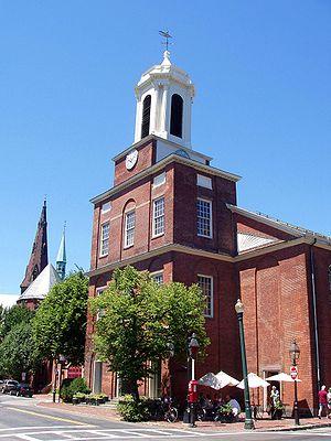 Charles Street Meeting House - Image: Charles Street Meeting House Beacon Hill Boston Massachusetts
