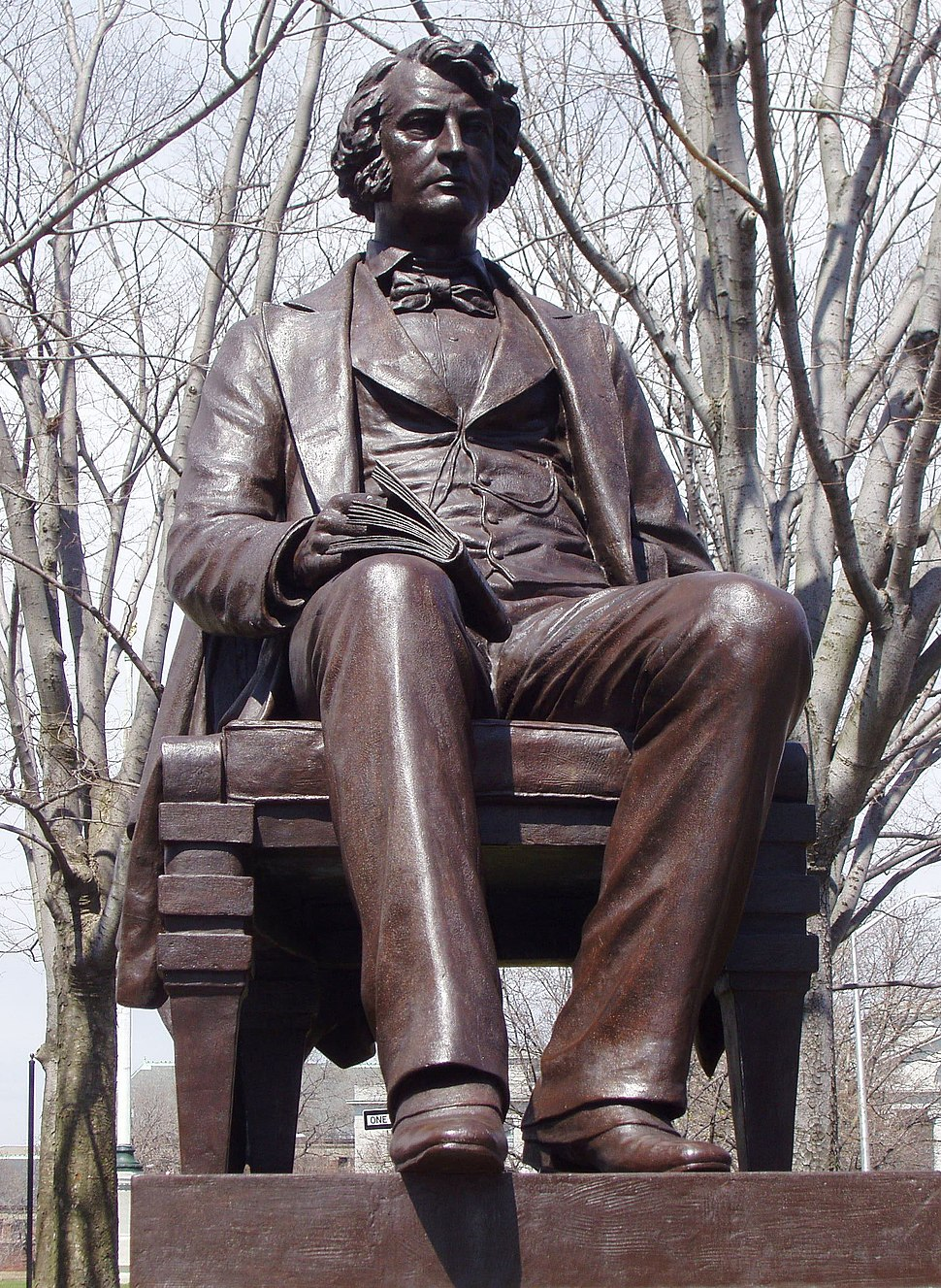 Charles Sumner statue (Cambridge, MA) - Anne Whitney sculptor