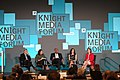 Charles Sykes, Mirta Ojito, Mizell Stewart III, Joanne Lipman and Jennifer Preston, during the Knight Media Forum 2019 in Miami (40263741413).jpg