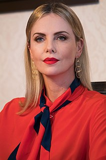 Charlize Theron South African and American actress and film producer