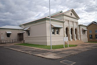 Charters Towers Courthouse - Charters Towers Courthouse, 2009