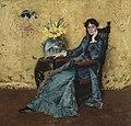 大通威廉·梅里特多拉惠勒小姐的肖像1883.jpg