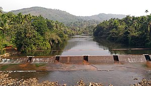 Check dam - A check Dam at Kudumboor across chandragiri River