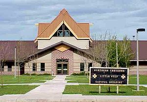 Northern Cheyenne Indian Reservation - Northern Cheyenne Reservation Headquarters 2003