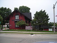 Chicago, Burlington, and Quincy Railroad Depot (Batavia, IL) 01.JPG