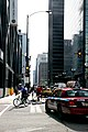 "Chicago (ILL) downtown, W.Adams St. "" bikers & cab "" (4825625217).jpg"