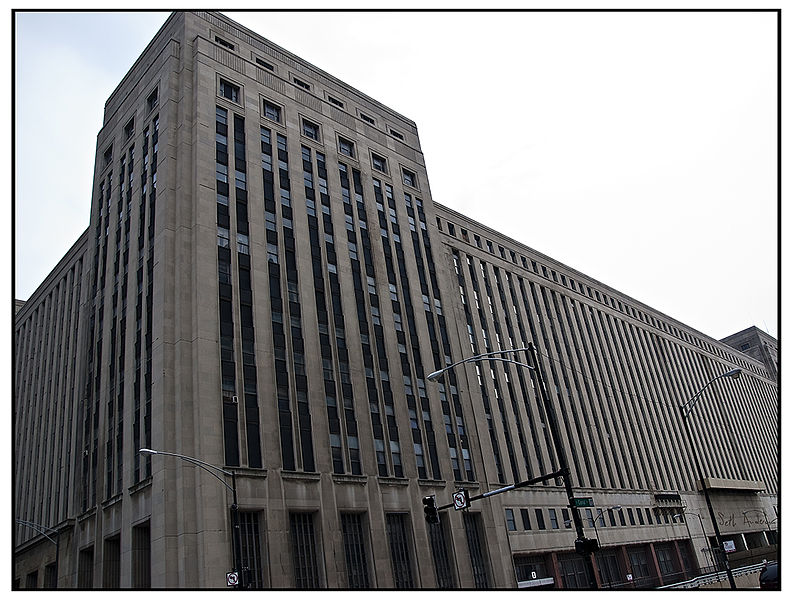 Chicago Post Office Building Turned Into