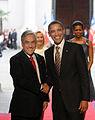 Chile. Honores de la Guardia de La Moneda a Barack Obama.jpg