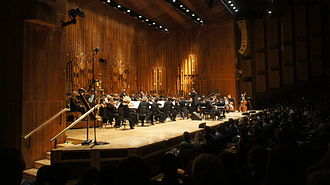 BBC Symphony Orchestra - The BBC Symphony Orchestra at the Barbican in October 2012