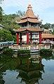 Chinese pavilion, Haw Par Villa (14607235140).jpg