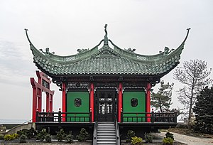 Marble House - The Chinese Tea House, modeled on 12th century Song Dynasty temples.