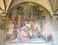 Chiostro grande di smn, lato est 15 giovanni maria butteri, predica di s. vincenzo ferrer, 1581-84.JPG