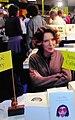 Chloé Mary at Montreuil Book Fair 2001-12-03 K42.jpg