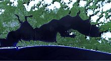 Choctawhatchee bay map fl