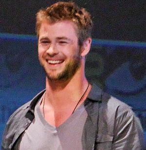 Chris Hemsworth at the 2010 San Deigo Comic-Co...