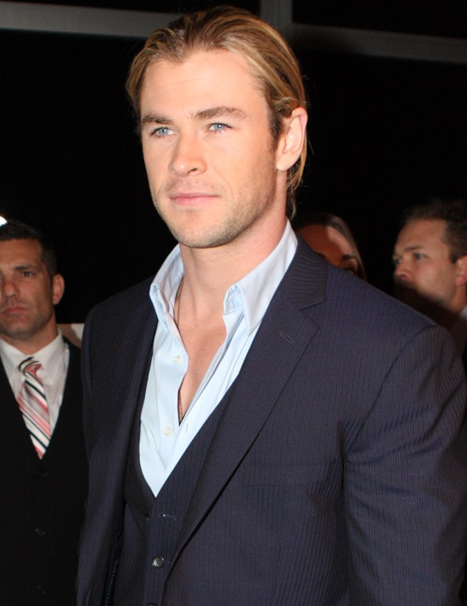 Chris Hemsworth 3, 2012