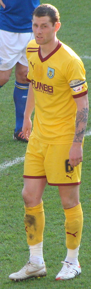 Chris McCann - McCann playing for Burnley in 2012
