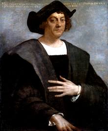 Posthumous portrait of Christopher Columbus