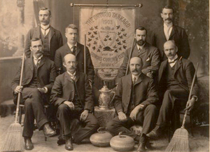 CurlON - Charles Collins and his team from the Dundas Curling Club, were winners of this event in 1903