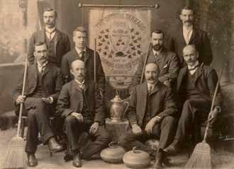 Chub Collins - Image: Chub Collins Winners of the Ontario Tankard 1903