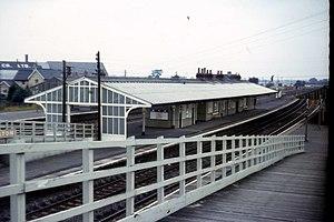 Church Fenton railway station - Church Fenton station in 1970