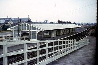 Church Fenton railway station Railway station in North Yorkshire, England