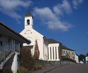 Franzenheim - Image: Church Franzenheim (Trier Saarburg)