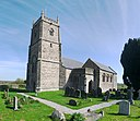 Church of St Bridget, Chelvey, from south-west.jpg