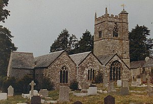 Blisland - Blisland Parish Church from the east