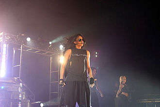 Ciara - Ciara performing during her debut tour Ciara: Live in Concert in November 2006