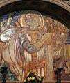 Cimitero dall'antella, cappella di san giorgio, decori della manifattura chini, 1924, 03.JPG