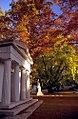 """Cincinnati - Spring Grove Cemetery & Arboretum """"Mausoluem in Autumn"""" (5147593290).jpg"""
