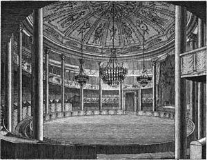 Amphithéâtre Anglais - Image: Cirque Faubourg du Temple Vue intérieure Kaufmann 1837 plate 15 GB Princeton