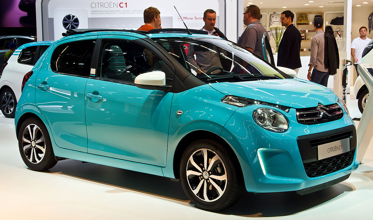 File Citroën C1 Puretech 82 Airscape Feel Edition Ii Frontansicht 19 September 2015 Frankfurt Jpg Wikimedia Commons