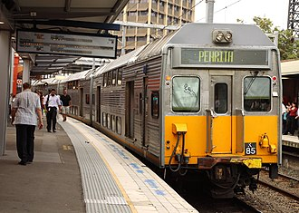 Sydney Trains - Image: City Rail Kset K85 at Parramatta