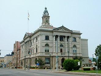 Elmira, New York - Image: City Hall Elmira NY