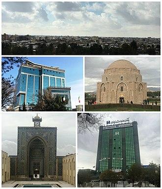 Kerman - Image: City of Kerman montage